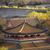 blue gold pavilion forbidden city beijing china stock photo © billperry