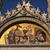 saint marks basilica jesus mosaic facade statues venice italy stock photo © billperry