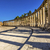 oval plaza 160 ionic columns ancient roman city jerash jordan stock photo © billperry