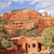 boynton red rock canyon building blue skies sedona arizona stock photo © billperry