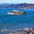 fishermans wharf alcatraz island sail boats san francisco calif stock photo © billperry