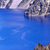 blue crater lake rim white boat oregon stock photo © billperry