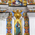 szent · kolostor · katedrális · homlokzat · festmények · Ukrajna - stock fotó © billperry