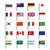 flags icons stock photo © biv