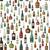 bebidas · menú · botellas · botella · forma · vector - foto stock © biv