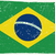brazilian grunge flag stock photo © biv