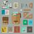bureau · modernes · vecteur · couleur · chambre - photo stock © biv
