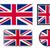 parlak · bayraklar · örnek · ayarlamak - stok fotoğraf © biv