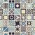 аннотация · искусства · синий · вектора · многоугольник · бесшовный - Сток-фото © biv