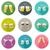 iconos · bebidas · estantería · estilo · vector · arte - foto stock © biv