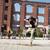 энергичный · молодые · хип-хоп · улице · танцовщицы - Сток-фото © blanaru
