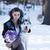 собака · улице · женщину - Сток-фото © blanaru