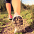 walking or running shoes in forest adventure and exercising stock photo © blasbike