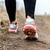 sétál · fut · lábak · sport · cipők · nő - stock fotó © blasbike