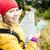 kobieta · turystyka · plecak · góry · korsyka · Francja - zdjęcia stock © blasbike