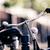 vintage city bike colorful retro light and handlebar stock photo © blasbike
