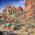 kadın · koşucu · eğitim · kronometre · akıllı · izlemek - stok fotoğraf © blasbike