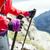 nordic walking hands in high mountains stock photo © blasbike