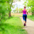 woman jogging in summer park stock photo © blasbike