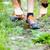 corredor · esportes · sapato · homem · corrida · estrada · rural - foto stock © blasbike