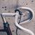 város · út · bicikli · közelkép · klasszikus · stílus - stock fotó © blasbike