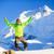 男 · ハイカー · 幸せ · ジャンプ · 冬 · 山 - ストックフォト © blasbike