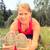 montare · femminile · jogger · riposo · città - foto d'archivio © blasbike