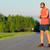 klaar · fitness · jonge · man · lopen · lichaam · venster - stockfoto © blasbike