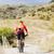 man · mountainbiken · berg · paardrijden - stockfoto © blasbike