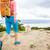 femme · randonnée · marche · chien · sentier - photo stock © blasbike