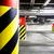 parking · garage · métro · intérieur · lumineuses · néon - photo stock © blasbike