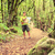caminante · mapa · forestales · hombre · senderismo · caminando - foto stock © blasbike
