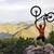 silueta · puesta · de · sol · deportes · moto · viaje - foto stock © blasbike