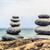 Steine · Gleichgewicht · Eingebung · friedlich · Wellness · Retro - stock foto © blasbike