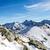 hegyek · tájkép · napos · idő · tél · hegy · kék - stock fotó © blasbike