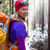 marche · hiver · femme · neige - photo stock © blasbike