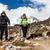 カップル · ハイキング · ヒマラヤ山脈 · 山 · ヒマラヤ山脈 · ネパール - ストックフォト © blasbike