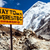 Everest · Dağı · imzalamak · kamp · tabelasını · himalayalar · Nepal - stok fotoğraf © blasbike