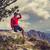 escursionista · runner · guardando · montagna · panorama - foto d'archivio © blasbike