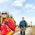 Coppia · escursioni · percorso · autunno · foresta · uomo - foto d'archivio © blasbike