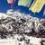 mountain inspirational landscape annapurna range nepal stock photo © blasbike