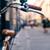 city bicycle handlebar bike over blurred beautiful bokeh backgr stock photo © blasbike
