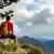hiking man or trail runner in mountains stock photo © blasbike