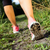 Walking or running legs in forest, summer nature activity stock photo © blasbike
