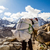 insanlar · yürüyüş · iz · dağlar · hamal - stok fotoğraf © blasbike