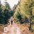 nő · kirándulás · ősz · hegyek · erdő · ül - stock fotó © blasbike