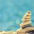 zen · taşlar · plaj · deniz · okyanus - stok fotoğraf © blasbike