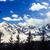 bulutlar · mavi · kış · gökyüzü · sakız · ağaçlar - stok fotoğraf © blasbike