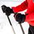 wandelen · schoenen · sneeuw · natuur · metaal · veld - stockfoto © blasbike