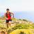 heureux · sentier · courir · homme · belle · montagnes - photo stock © blasbike